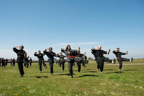 T'ai Chi Dance at the summer course