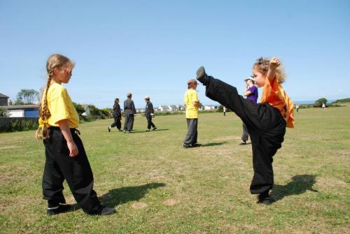 Kung Fu footflow patterns